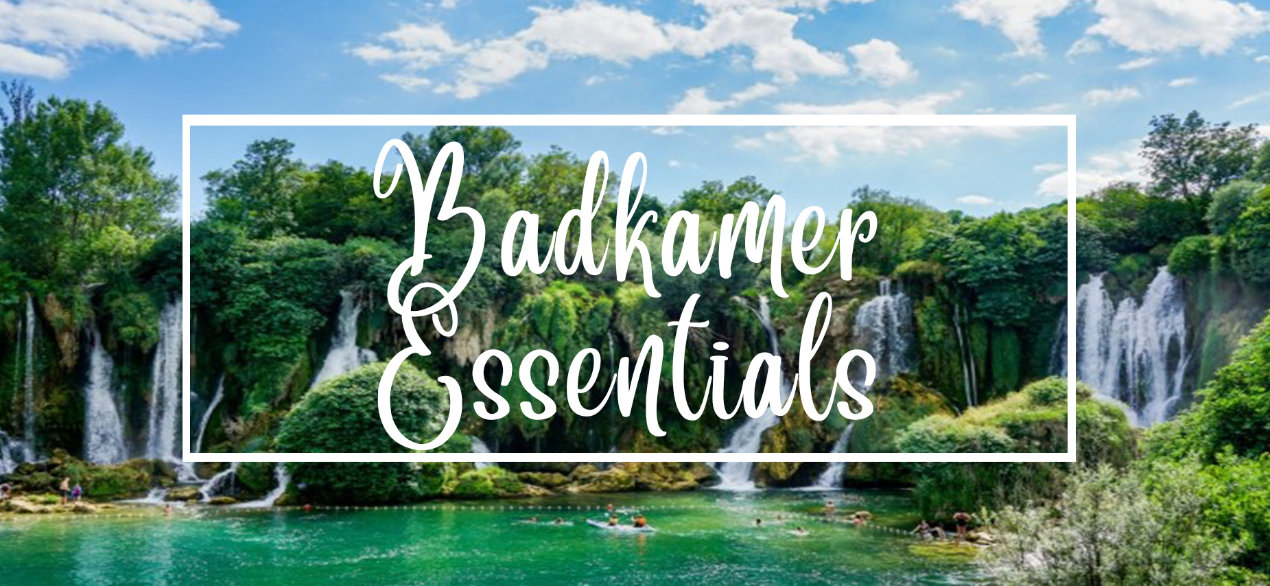 Badkamer essentials oils